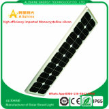 Iluminação de rua do diodo emissor de luz de 80 W Soalr com microplaqueta de Bridgelux