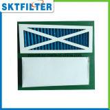 De aire de la toma filtro pre con el material de la fibra sintetizada