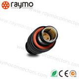3 cable connecteur sonore en métal de Fgg 0b 303 de caméra vidéo de Pin