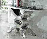 Tableau moderne de vestibule de meubles à la maison d'acier inoxydable (X8038#)