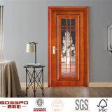 Intérieur de cuisine Conception en bois en bois unique de sculpture en verre (GSP3-013)