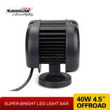 """Luz de trabajo LED 4.5 """"40W Offroad Alta barra de luz LED"""