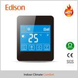 Thermostat de contrôleur de température ambiante d'écran tactile LCD pour le système de bobine de ventilateur à C.A. (TX-928)