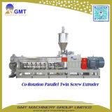 Linha de madeira da máquina da peletização da biomassa da Co-Rotação do plástico PP/PE WPC