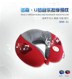 Le meilleur coussin de massage de forme de la vente U de modèle neuf pour le collet