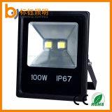 100W LEDのフラッドライトIP67ランプの防水軽い屋外の照明2700k-6500kハウジング