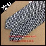 O costume Handmade imprimiu a gravata magro de seda de 100%
