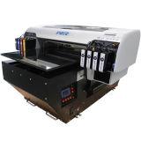Impresora plana ULTRAVIOLETA de escritorio aprobada del Ce A2 LED para la tarjeta de la identificación del PVC de la impresión, pluma, caja del teléfono, vidrio, metal, de cerámica, camiseta