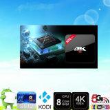 H96 PRO cadre androïde d'Amlogic S912 TV de faisceau du cadre 2GB 16GB 4k H96 PRO Octa de l'androïde 6.0 TV