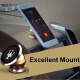 Sostenedor del teléfono móvil del coche de la rotación de 360 grados con completamente el material del metal