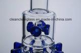 工場卸し売り新しいデザインギヤPercが付いているガラス配水管の煙る管