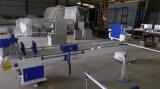 Вырезывание Двойн-Головки увидело для алюминиевой машины окна PVC