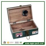 Творческая деревянная коробка нот с шить и машиной утюга