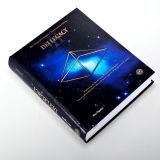 Livre rond d'épine de livre À couverture dure