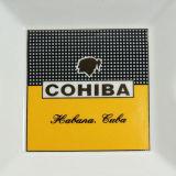 Cohiba klassisches großes Porzellan-keramischer Zigarre-Aschenbecher (ES-EB-128)