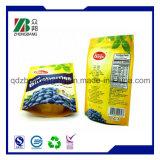 Sacchetti a chiusura lampo di plastica a prova d'umidità per frutta secca impaccante