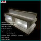 재충전용 LED 소파 LED 소파 의자 옥외 LED 소파