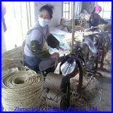 手動わらロープの作るか、または編む機械