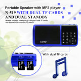 TF portatile Card Speaker con FM Radio (N519)