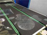 形のガラス打抜き機のための自動ライン