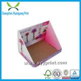 Роскошная изготовленный на заказ коробка индикации бумаги картона для пакета