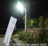 Lumière extérieure 5W-120W tout dans une lumière solaire solaire de jardin de réverbère avec l'intense luminosité