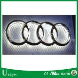 高品質アクリルの広告LED車のロゴの表記