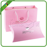 アクセサリのためのピンクのギフト袋及び枕ボックス