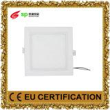 LED que enciende el panel escaliforme cuadrado embutido blanco fresco AC85-265V