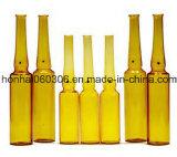 bernsteinfarbige Glasampulle 25ml