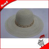 Chapéu de palha flexível colorido