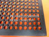 Циновка кухни Anti-Fatigue резиновый полового коврика дренажа резиновый