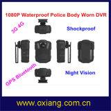 WiFi 4G Polizei Eqipment Karosserien-Kamera mit Batterie 3200mAh und Nachtsicht