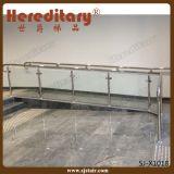 De Balustrade van het Traliewerk van het glas voor het Systeem van het Traliewerk van het Glas van het Balkon (sj-X1024)