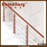 De Leuning van de Balustrade van de Trede van het Roestvrij staal van het Traliewerk van de staaf (sj-X1031)