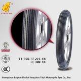 Le marché de pièces de moto de Baiyun fournissent le pneu de la moto 300-18