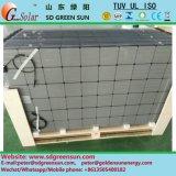 Panel de celda solar de doble vidrio de 160W