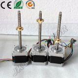 42mm impresora 3D lineal del motor de pasos, actuador lineal del motor, con tornillo de avance