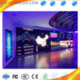 Pared grande a todo color de interior del vídeo del alto brillo LED de HD P2 SMD