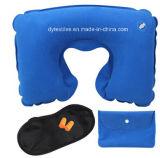 Si la forma de U-004 Inflable Almohada para cuello Almohada de coches