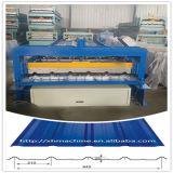 Ghana-populärer Typ Stahlblech-Fliese-Rolle, die Maschine bildet