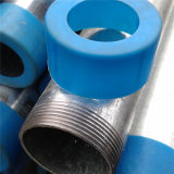 Blue Capsの高品質Factory Price Recommend Thread Hot Dipped Galvanized Pipe