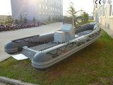 Vetro/Fibreglasss/nervatura/barca gonfiabile rigida (HSF 420-580) di PVC/Pvcmaterial//Hypalon/Hypalon Material/FRP/Fiberglass/Fiber