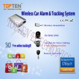 Perseguidor & alarme sem fio do veículo do GPS com CE, FCC, RoHS (TK210-ER44)