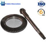 Engranaje cónico espiral modificado para requisitos particulares BS0020 14/53 para el alimentador de la potencia de caballo el engranaje trasero del árbol de mecanismo impulsor