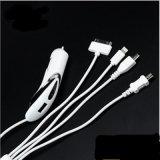 1 철회 가능한 차 충전기 USB 배수 보편적인 USB에 대하여 4