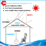 La calidad aseguró la bobina en frío PPGI de la hoja del material para techos del aislante termal