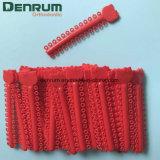 Legami elastomerici ortodontici della legatura di iso del Ce della FDA di Denrum