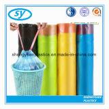 Мешки отброса Drawstring LDPE устранимого использования кухни пластичные