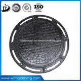 중국 주조에서 En124 A15 B125 C250 D400 Ggg50 맨홀 뚜껑